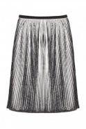 Munthe Oasis Plissé Pleated Skirt in Indigo