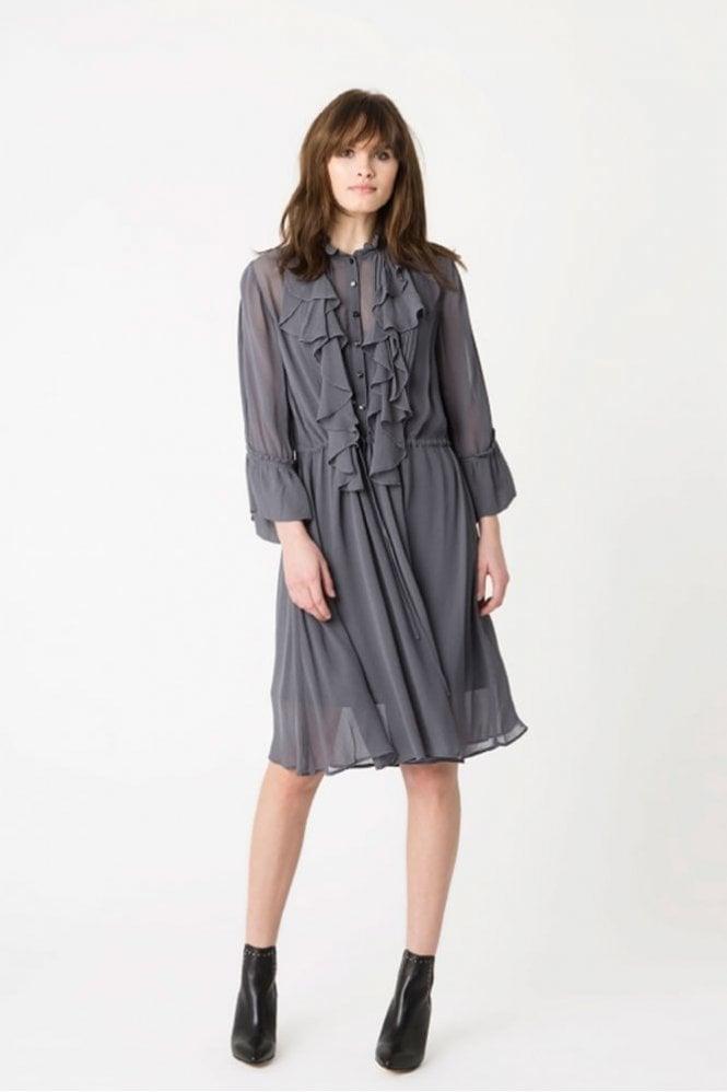 Munthe Omaja Dress in Charcoal