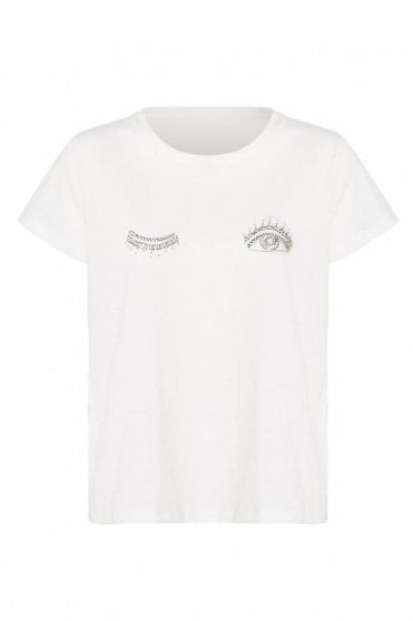 Talisman T-shirt in Ivory