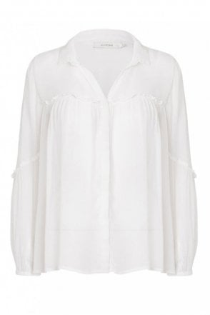 Taurus Blouse in Ivory