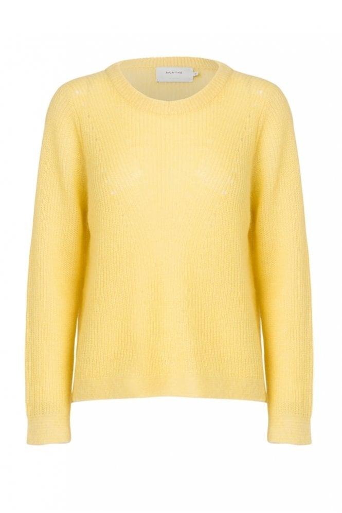 Munthe Tofu Sweater in Yellow