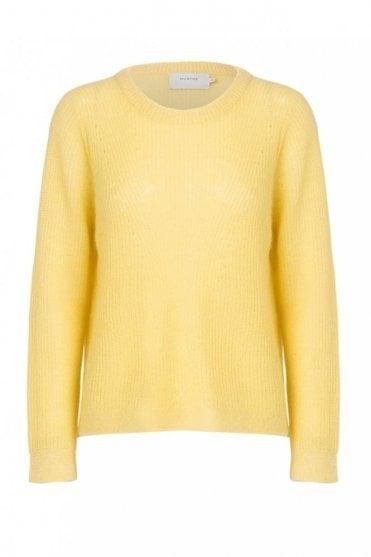Tofu Sweater in Yellow