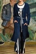 Munthe Toulouse Jacket in Indigo