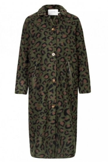 Visitor Coat in Army