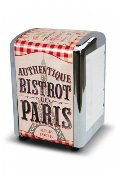 Bistrot de Paris Retro Napkin Dispenser