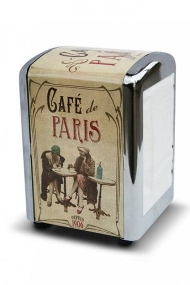 Café de Paris Retro Napkin Dispenser