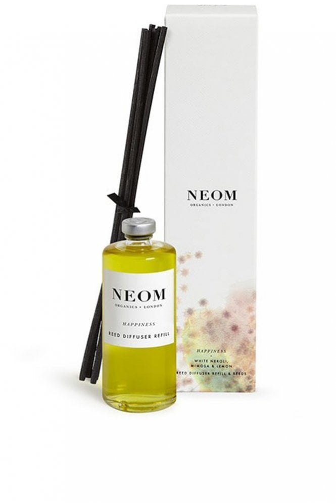 Neom Organics London Happiness Organic Reed Diffuser Refill 100ml