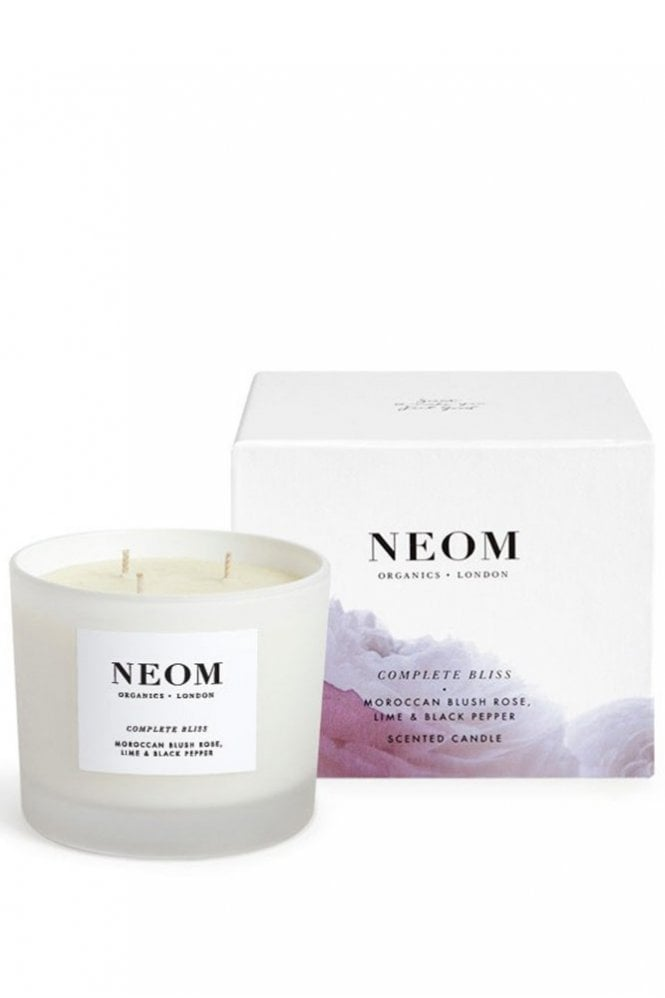 Neom Organics London Complete Bliss 3 Wick Scented Candle
