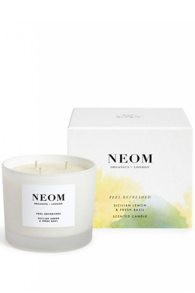 Neom Organics London Feel Refreshed 3 Wick Scented Candle