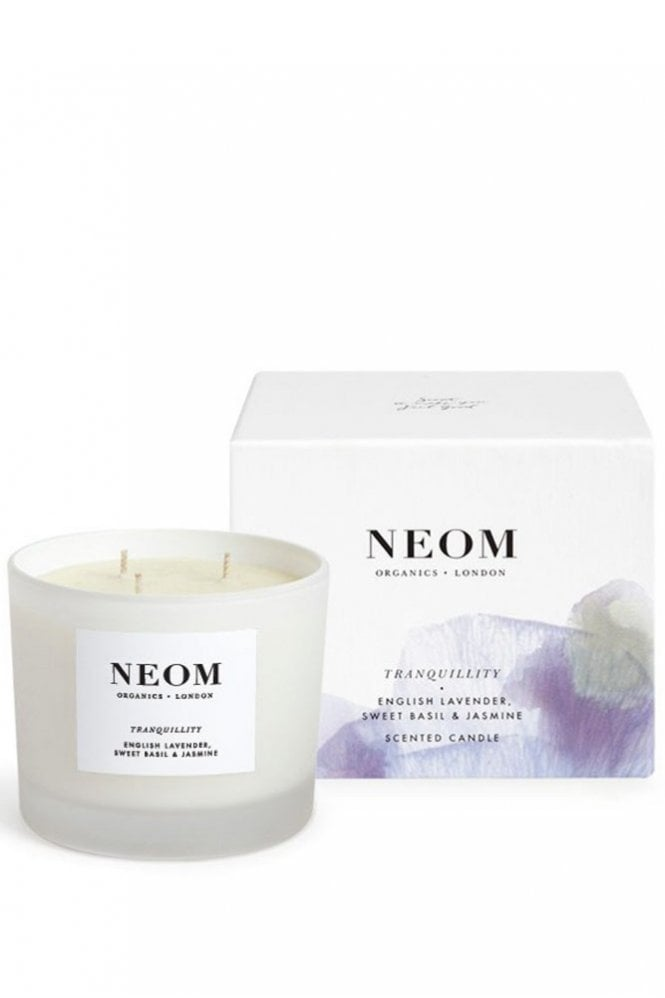 Neom Organics London Tranquility 3 Wick Scented Candle