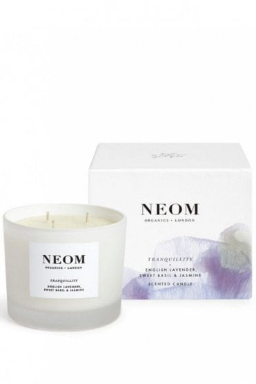 Tranquility 3 Wick Scented Candle