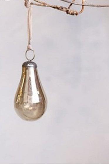 Alura Pear Bauble in Copper