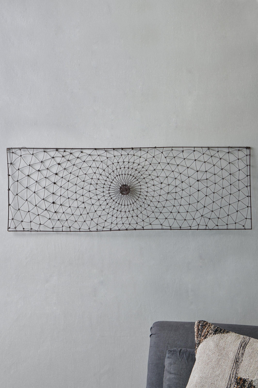 Nkuku Arna Rectangular Wire Wall Art At Sue Parkinson