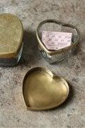 Nkuku Beme Brass Heart Pot