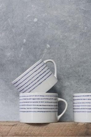 Bria Ceramic Mug – Indigo