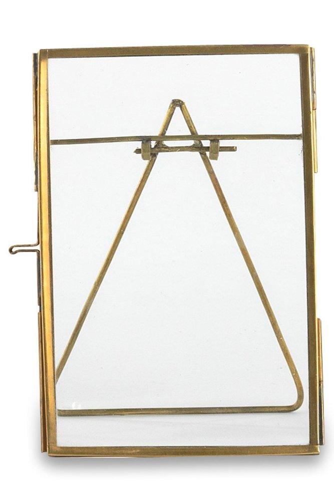 nkuku danta brass frame 4 x 6