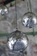 Nkuku Giant Antique Smoke Bauble