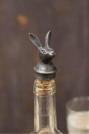 Hare Bottle Stopper