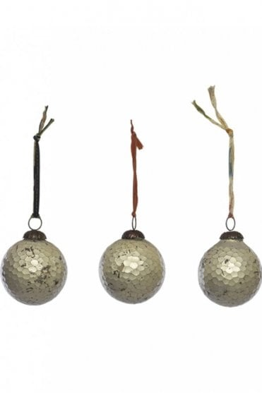 Isala Set of 3 Baubles