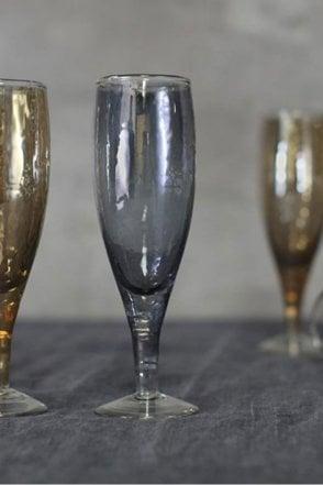 Ozari Aged Silver Champagne Glass