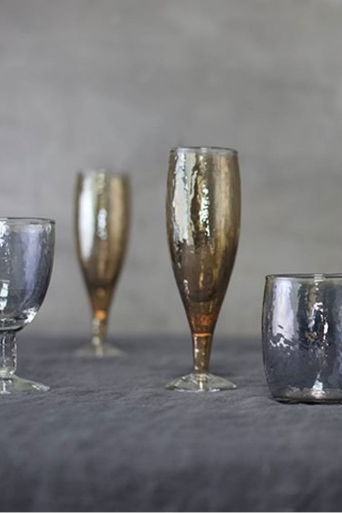 Nkuku Ozari Copper Champagne Glass