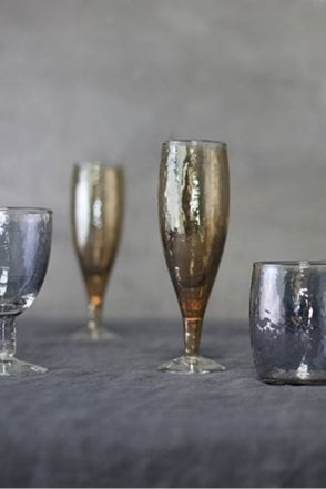 Ozari Copper Champagne Glass