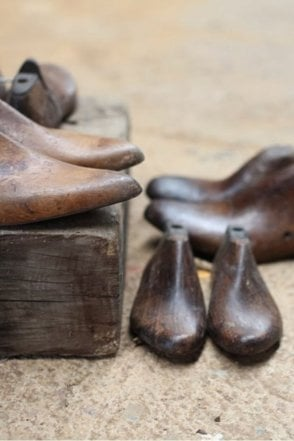 Reclaimed Shoe Last (set of 2)