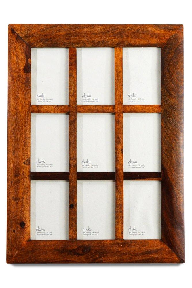 nkuku sheesham wood multi frame at sue parkinson. Black Bedroom Furniture Sets. Home Design Ideas