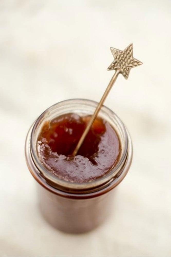 Nkuku Star Brass Spoon