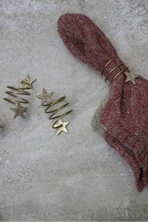Star Napkin Rings