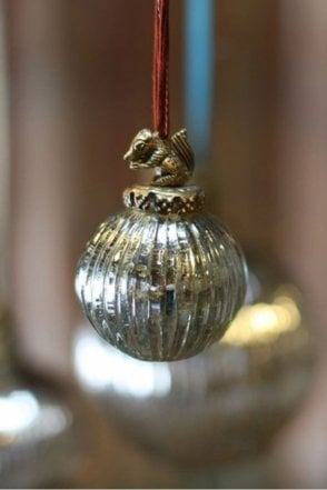 Vintage Squirrel Bauble