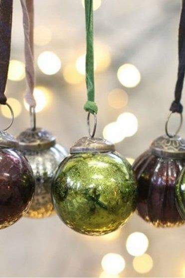 Zia Green Bauble – Smooth