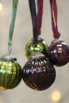 Zia Purple Bauble – Textured