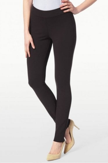 Basic Ponte Knit Legging in Bittersweet