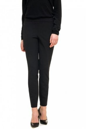 Jegging in Black Career Stretch