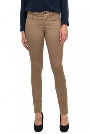 Jegging in Taupe Super Stretch