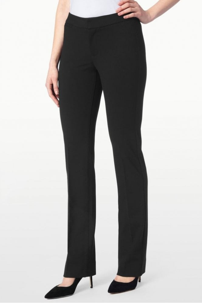 NYDJ Ponte Knit Trouser in Black