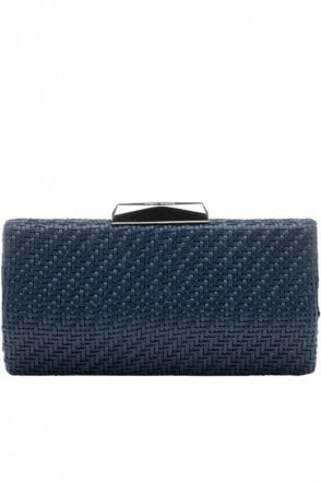 Textured Woven Pod in Navy