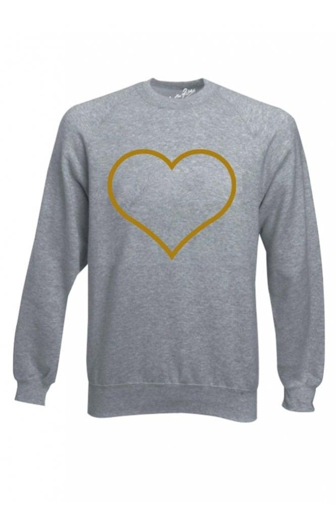 On The Rise Heart Sweatshirt