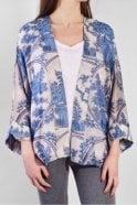 One Hundred Stars Delft Kimono