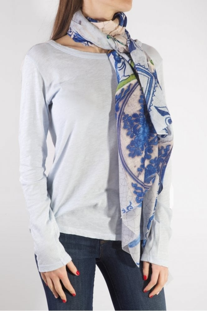 One Hundred Stars Delft Scarf