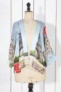 One Hundred Stars Eiffel Tower Kimono