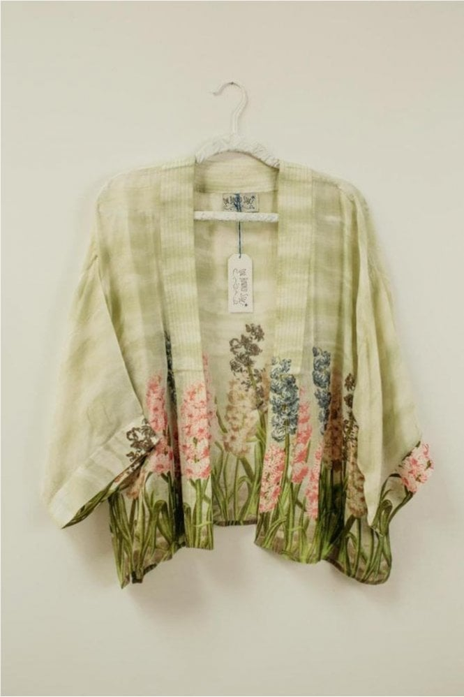 One Hundred Stars Hyacinth Kimono