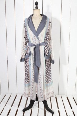Moorish Charcoal Dressing Gown