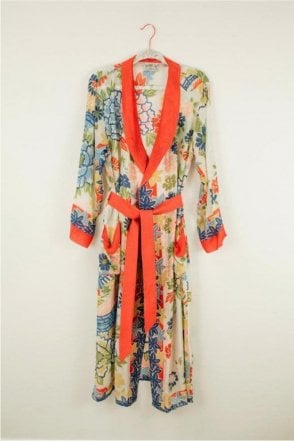 Pagoda Dressing Gown
