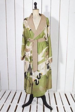 Stork Dressing Gown