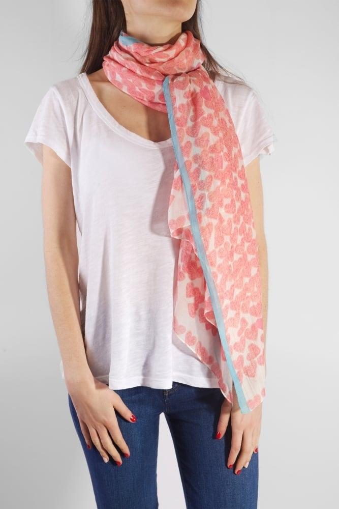 one hundred stars valentine scarf
