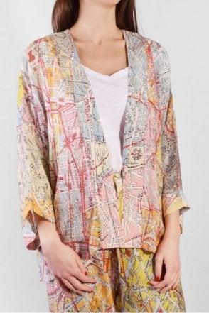 Valerie Paris Map Kimono