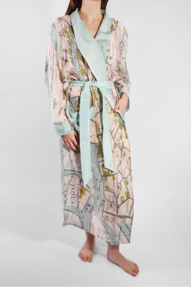 One Hundred Stars Venice Dressing Gown
