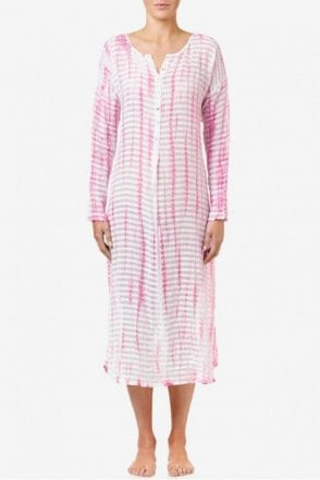 Harper Cotton Dress in Pink